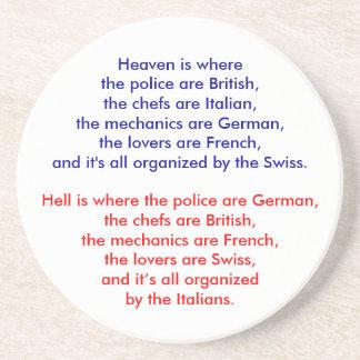 Heaven is where the police are British, the che... Coasters