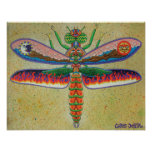 Heaven n Hell Dragonfly  Posters
