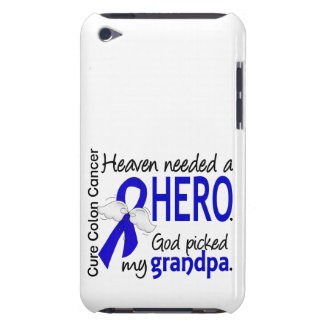 Heaven Needed a Hero Colon Cancer Grandpa Case-Mate iPod Touch Case