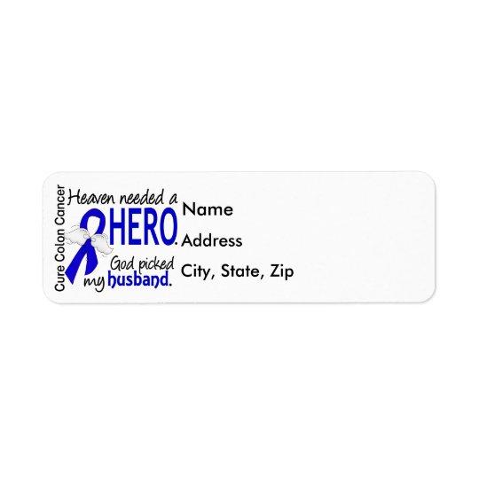 Heaven Needed a Hero Colon Cancer Husband