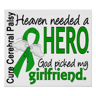Heaven Needed a Hero CP Girlfriend Poster