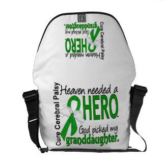 Heaven Needed a Hero CP Granddaughter Messenger Bag