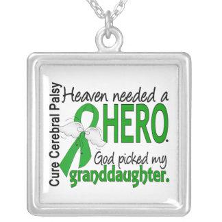 Heaven Needed a Hero CP Granddaughter Pendants