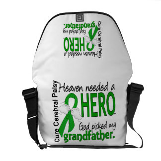 Heaven Needed a Hero CP Grandfather Courier Bag