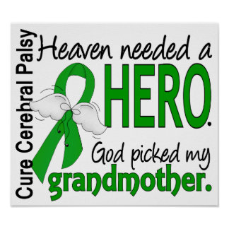 Heaven Needed a Hero CP Grandmother Poster