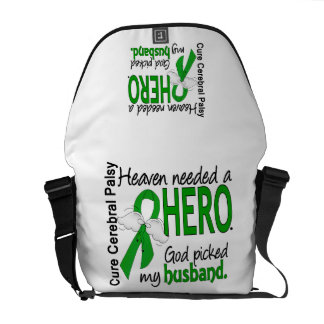 Heaven Needed a Hero CP Husband Courier Bags