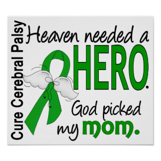 Heaven Needed a Hero CP Mom Print