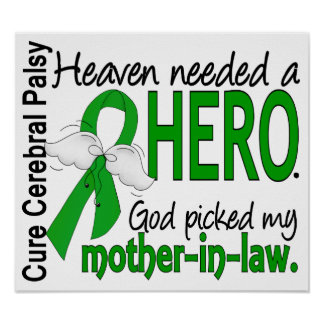 Heaven Needed a Hero CP Mother-In-Law Posters