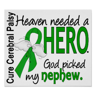 Heaven Needed a Hero CP Nephew Print