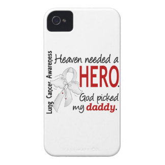 Heaven Needed A Hero Daddy Lung Cancer Case-Mate iPhone 4 Cases