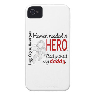 Heaven Needed A Hero Daddy Lung Cancer iPhone 4 Case