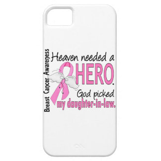 Heaven Needed A Hero Daughter-In-Law Breast Cancer iPhone 5 Cases