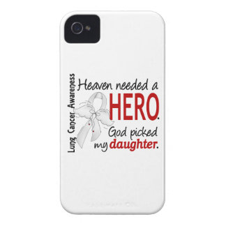 Heaven Needed A Hero Daughter Lung Cancer iPhone 4 Case-Mate Cases