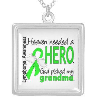 Heaven Needed a Hero Grandma Lymphoma Jewelry