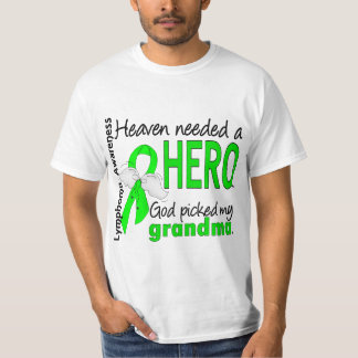 Heaven Needed a Hero Grandma Lymphoma T-Shirt