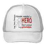 Heaven Needed A Hero Grandpa Lung Cancer Cap