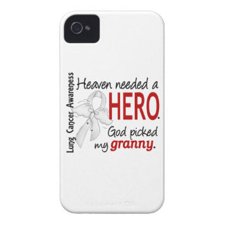 Heaven Needed A Hero Granny Lung Cancer iPhone 4 Cases