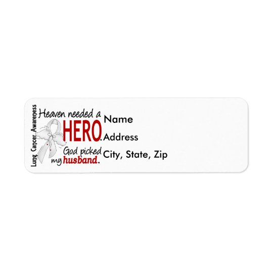 Heaven Needed a Hero Husband Lung Cancer