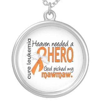 Heaven Needed a Hero Mawmaw Leukemia Jewelry