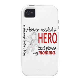Heaven Needed A Hero Momma Lung Cancer iPhone 4/4S Case