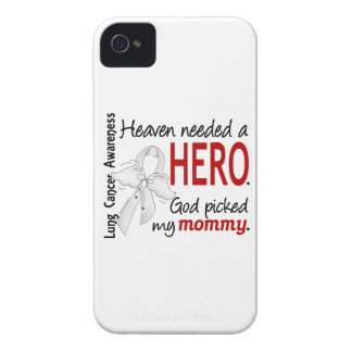 Heaven Needed A Hero Mommy Lung Cancer iPhone 4 Case