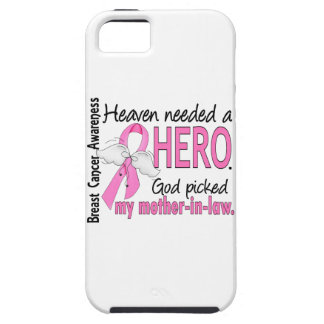 Heaven Needed A Hero Mother-In-Law Breast Cancer iPhone 5 Covers