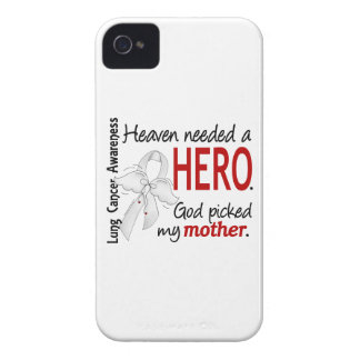 Heaven Needed A Hero Mother Lung Cancer iPhone 4 Covers