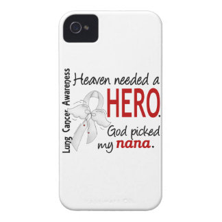 Heaven Needed A Hero Nana Lung Cancer iPhone 4 Cases