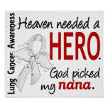 Heaven Needed A Hero Nana Lung Cancer Posters