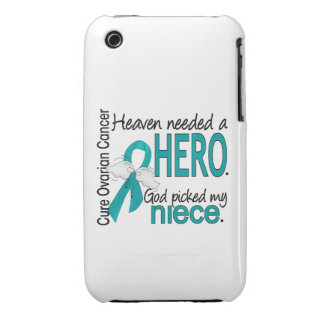 Heaven Needed a Hero Niece Ovarian Cancer iPhone 3 Case