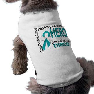 Heaven Needed a Hero Niece Ovarian Cancer Dog Clothes