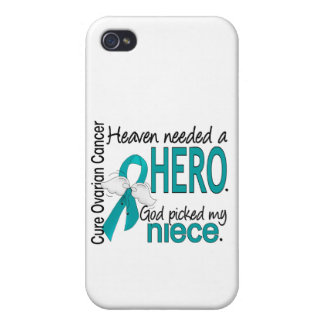 Heaven Needed a Hero Niece Ovarian Cancer iPhone 4 Covers