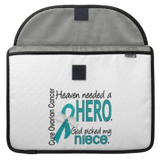Heaven Needed a Hero Niece Ovarian Cancer MacBook Pro Sleeve