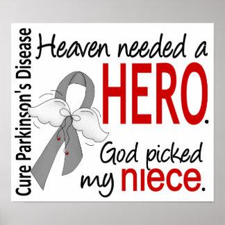 Heaven Needed a Hero Niece Parkinson's Print