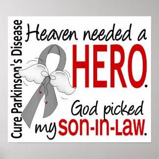 Heaven Needed a Hero Son-In-Law Parkinson's Print