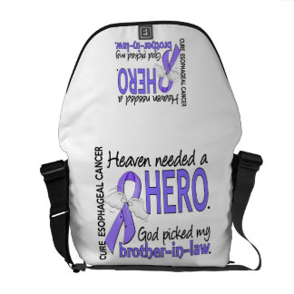 Heaven Needed Hero Esophageal Cancer Brother-In-La Messenger Bags