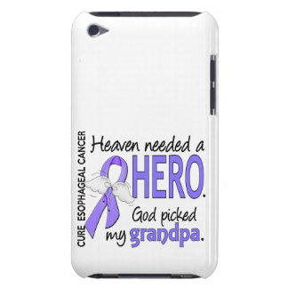 Heaven Needed Hero Esophageal Cancer Grandpa iPod Touch Case-Mate Case