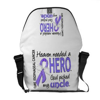 Heaven Needed Hero Esophageal Cancer Uncle Messenger Bags