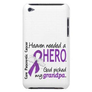 Heaven Needed Hero Grandpa Pancreatic Cancer iPod Case-Mate Case