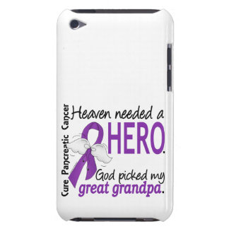 Heaven Needed Hero Great Grandpa Pancreatic Cancer iPod Touch Cover