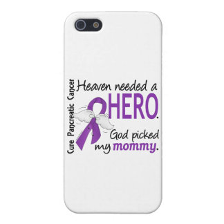 Heaven Needed Hero Mommy Pancreatic Cancer iPhone 5/5S Cases