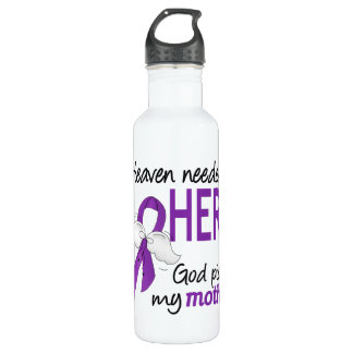 Heaven Needed Hero Mother Pancreatic Cancer 710 Ml Water Bottle