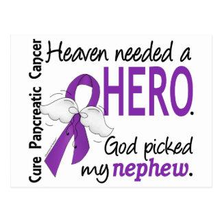 Heaven Needed Hero Nephew Pancreatic Cancer Postcard