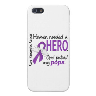 Heaven Needed Hero Pops Pancreatic Cancer iPhone 5/5S Cover