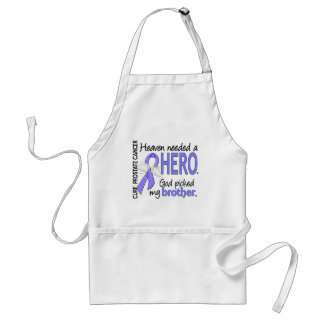 Heaven Needed Hero Prostate Cancer Brother Standard Apron