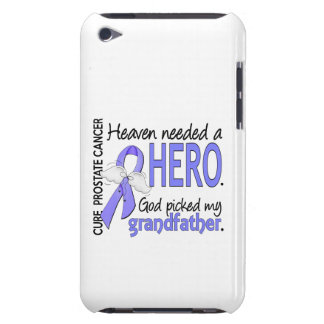 Heaven Needed Hero Prostate Cancer Grandfather Case-Mate iPod Touch Case