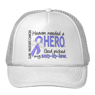 Heaven Needed Hero Prostate Cancer Son-In-Law Cap