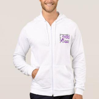 Heaven Needed Hero Stepfather Pancreatic Cancer Sweatshirts