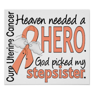 Heaven Needed Hero Uterine Cancer Stepsister Poster