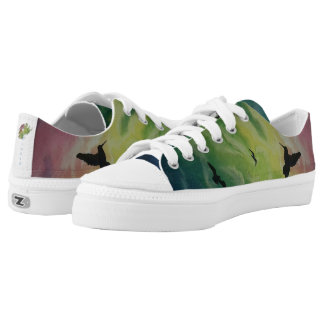 Heaven Of Birds Low Tops